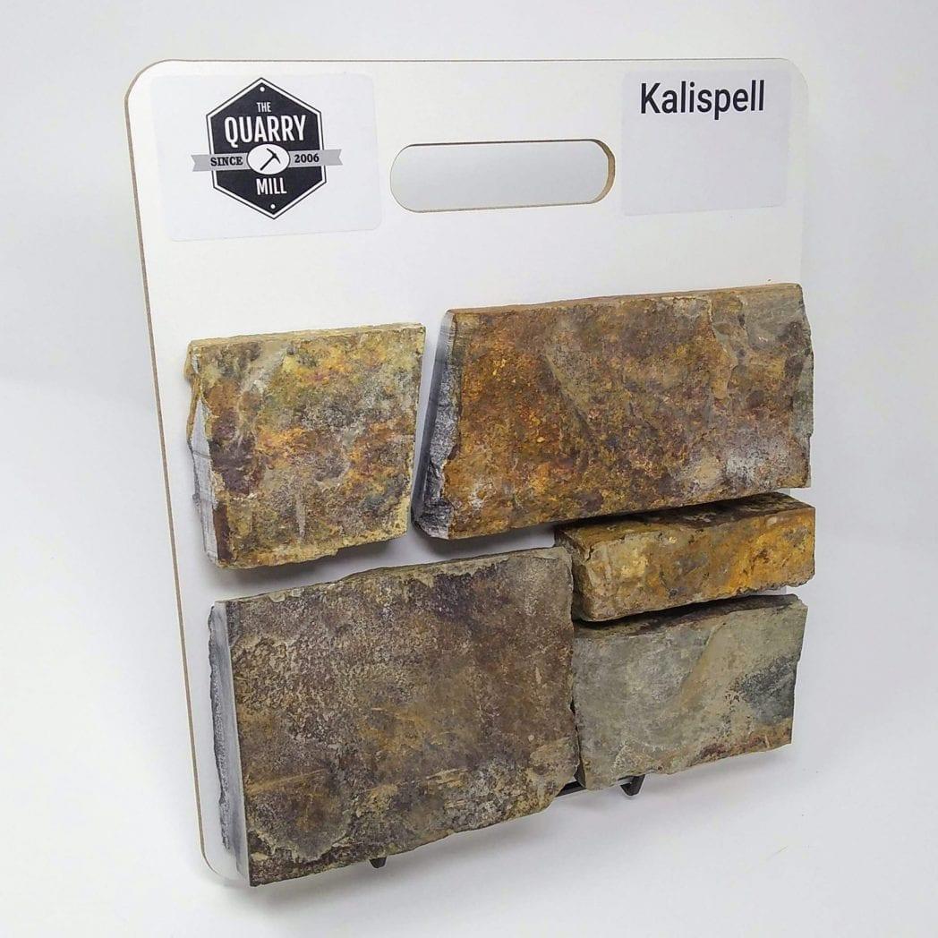 Kalispell Natural Stone Veneer Sample Board