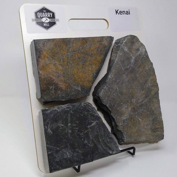 Kenai Natural Stone Veneer Sample Board