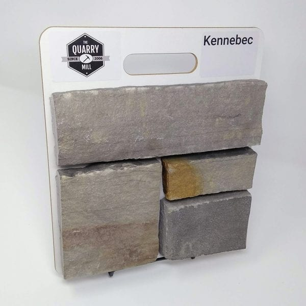 Kennebec Natural Stone Veneer Sample Board