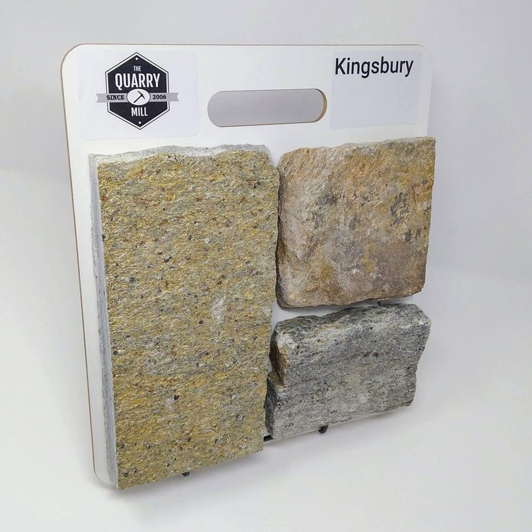 Kingsbury Natural Stone Veneer Sample Board