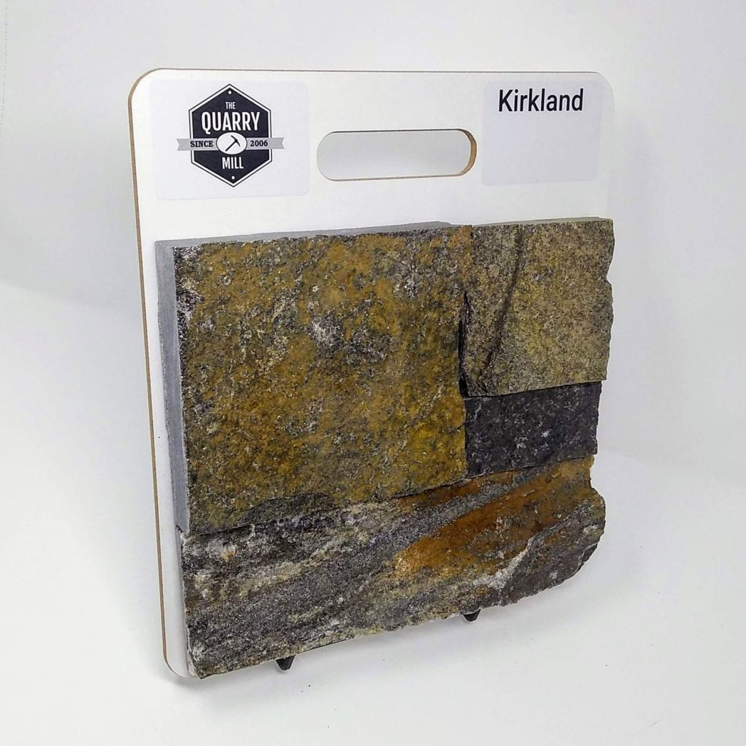 Kirkland Natural Stone Veneer Sample Board