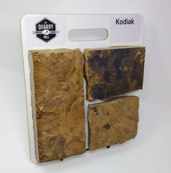 Kodiak Natural Stone Veneer Sample Board