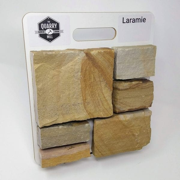Laramie Natural Stone Veneer Sample Board