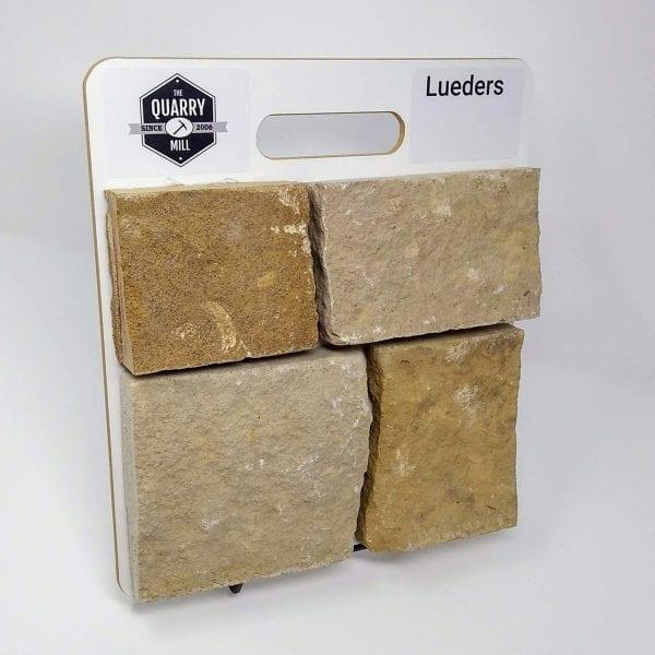 Lueders Natural Stone Veneer Sample Board