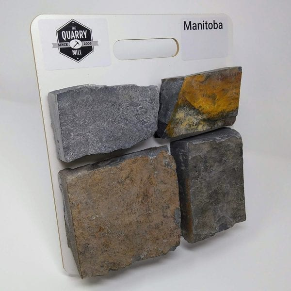 Manitoba Natural Stone Veneer Sample Board