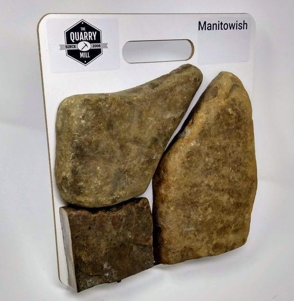 Manitowish Natural Stone Veneer Sample Board