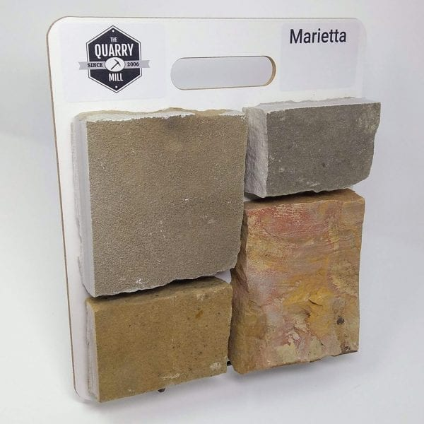 Marietta Natural Stone Veneer Sample Board