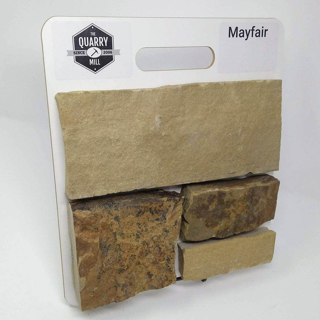 Mayfair Natural Stone Veneer Sample Board