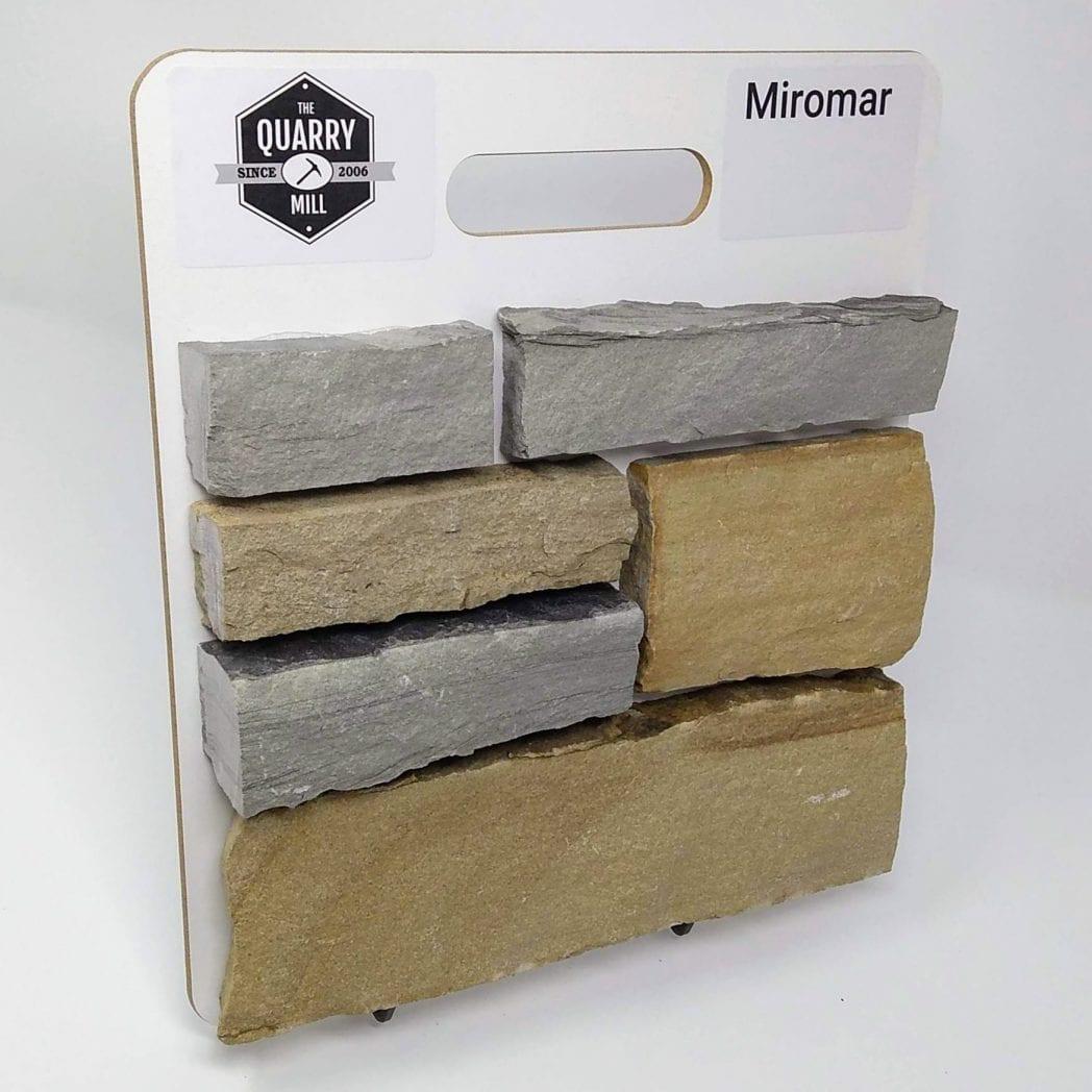 Miromar Natural Stone Veneer Sample Board