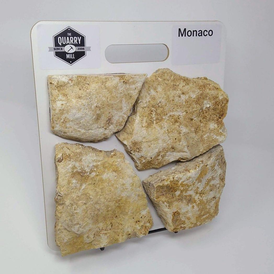 Monaco Natural Stone Veneer Sample Board