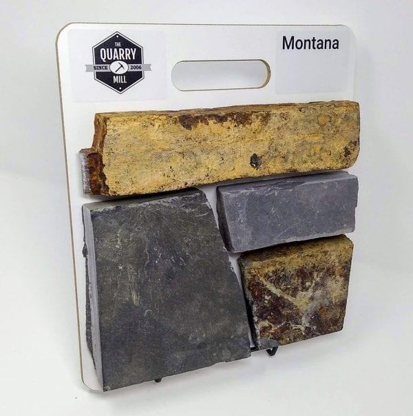 Montana Natural Stone Veneer Sample Board