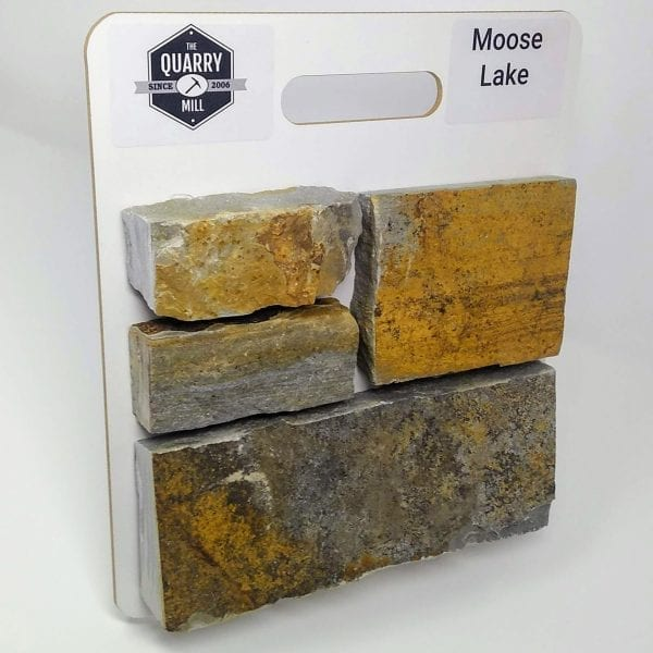 Moose Lake Natural Stone Veneer Sample Board