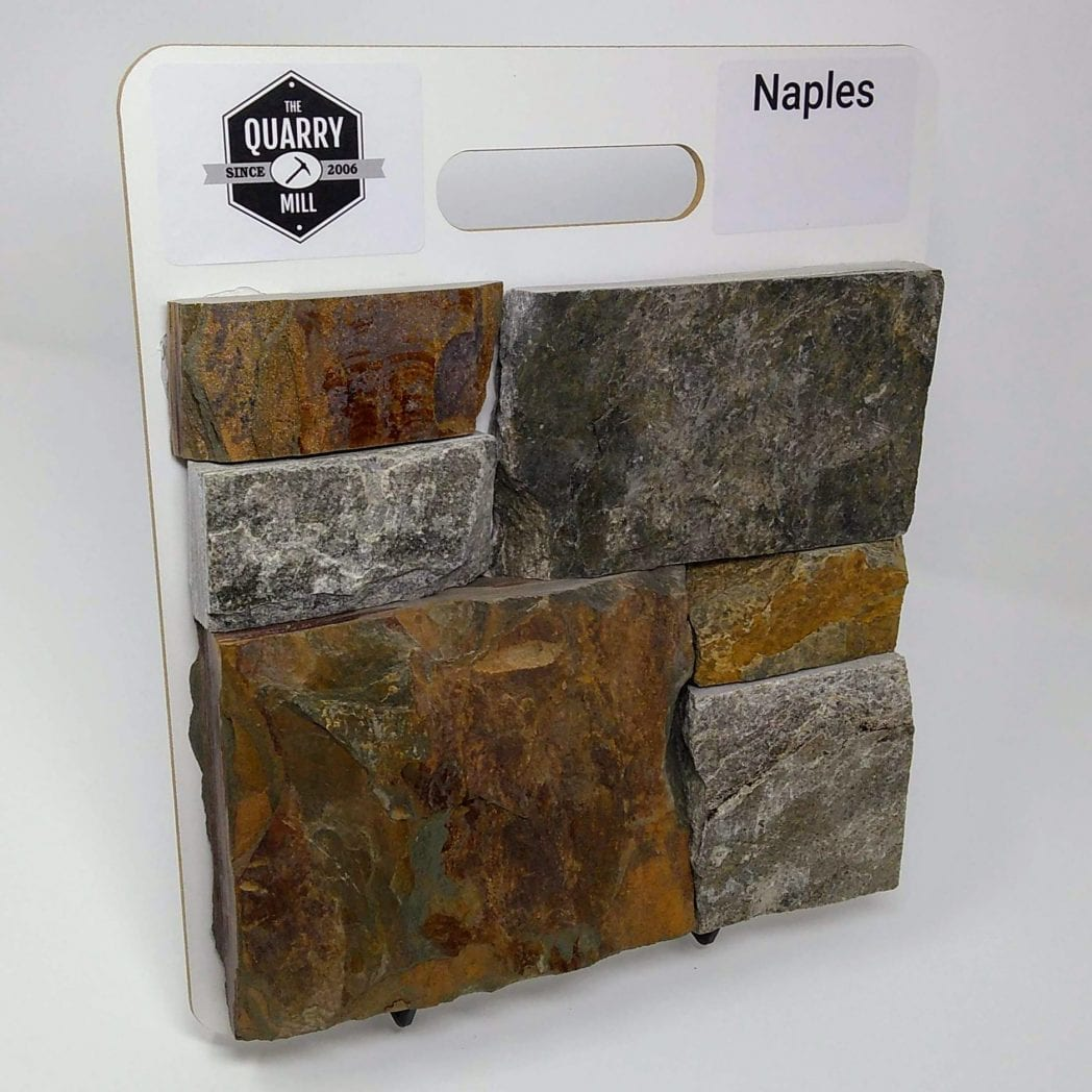 Naples Natural Stone Veneer Sample Board