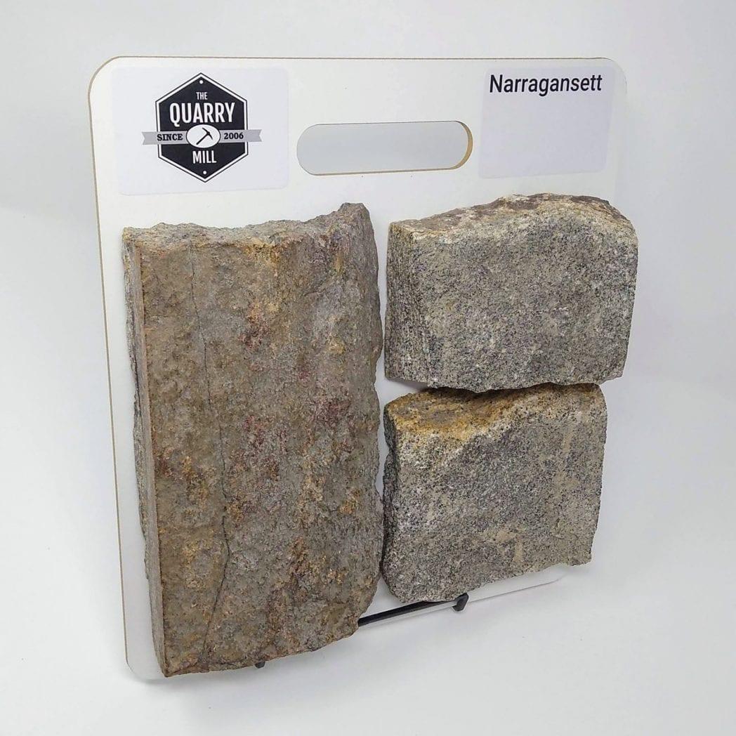 Narragansett Natural Stone Veneer Sample Board