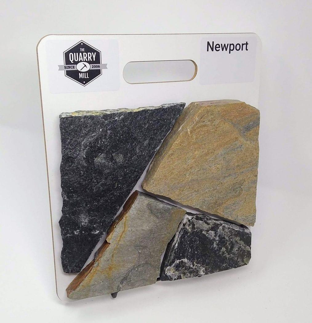 Newport Natural Stone Veneer Sample Board