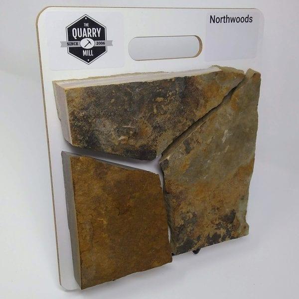 Northwoods Natural Stone Veneer Sample Board