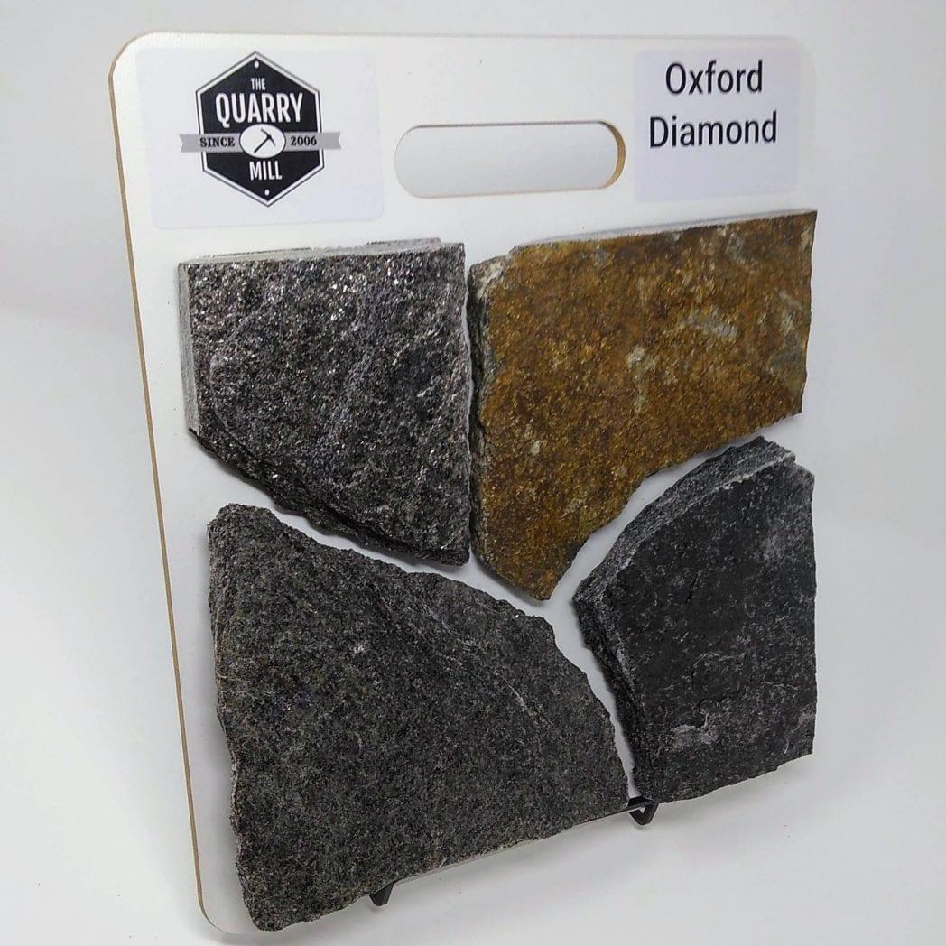 Oxford Diamond Natural Stone Veneer Sample Board