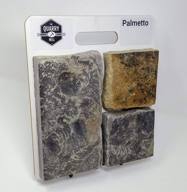 Palmetto Natural Stone Veneer Sample Board