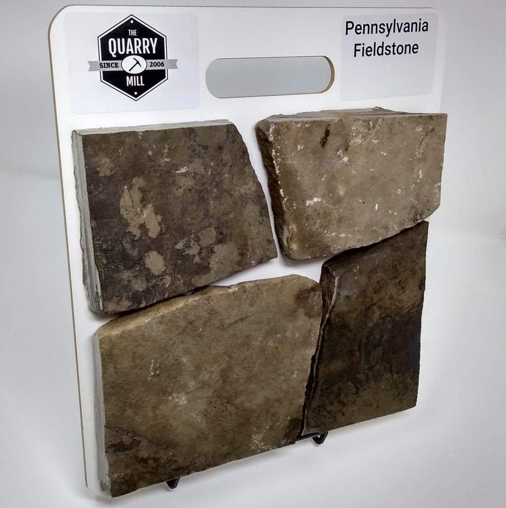 Pennsylvania Fieldstone Natural Thin Veneer Sample Board
