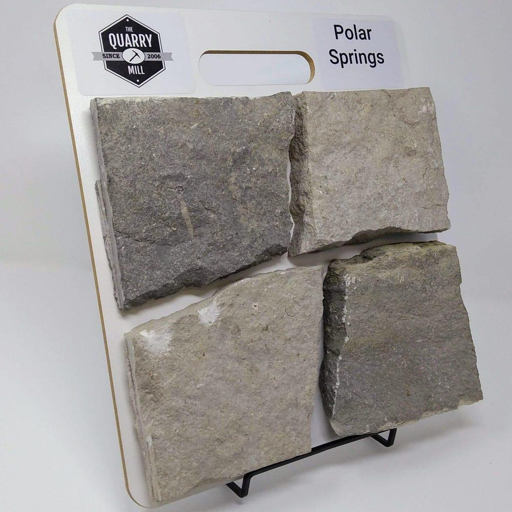 Polar Springs Natural Stone Veneer Sample Board