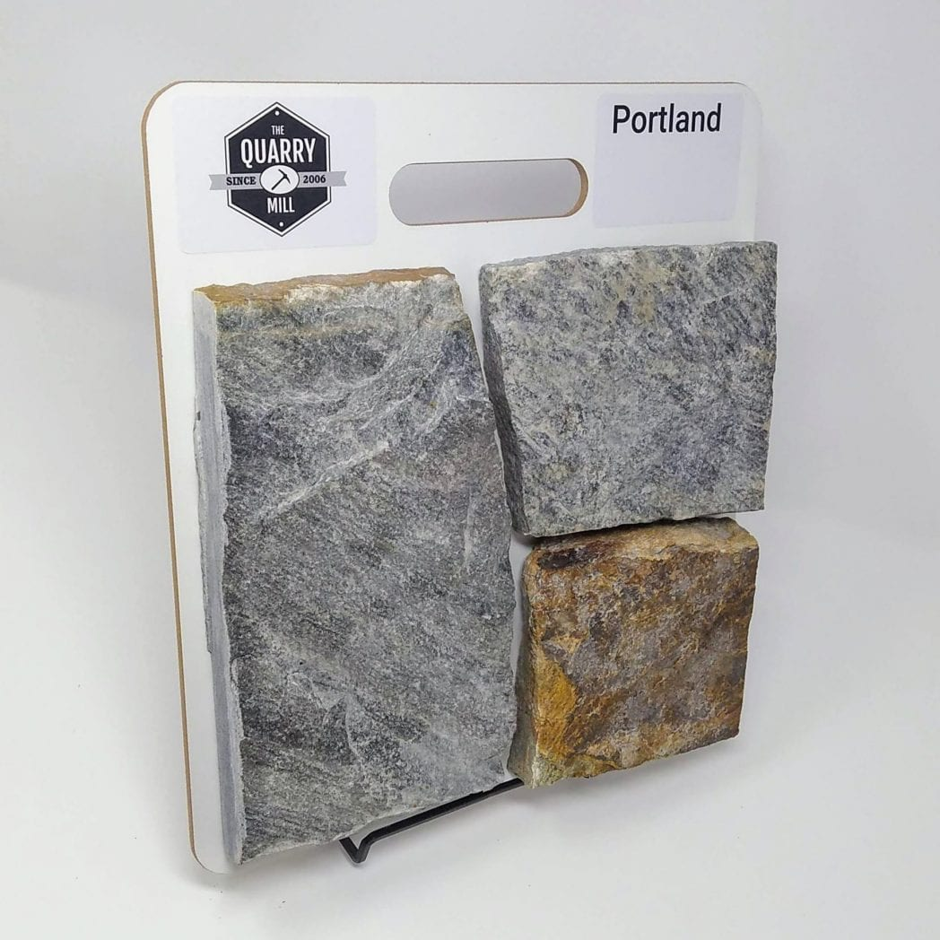 Portland Natural Stone Veneer Sample Board