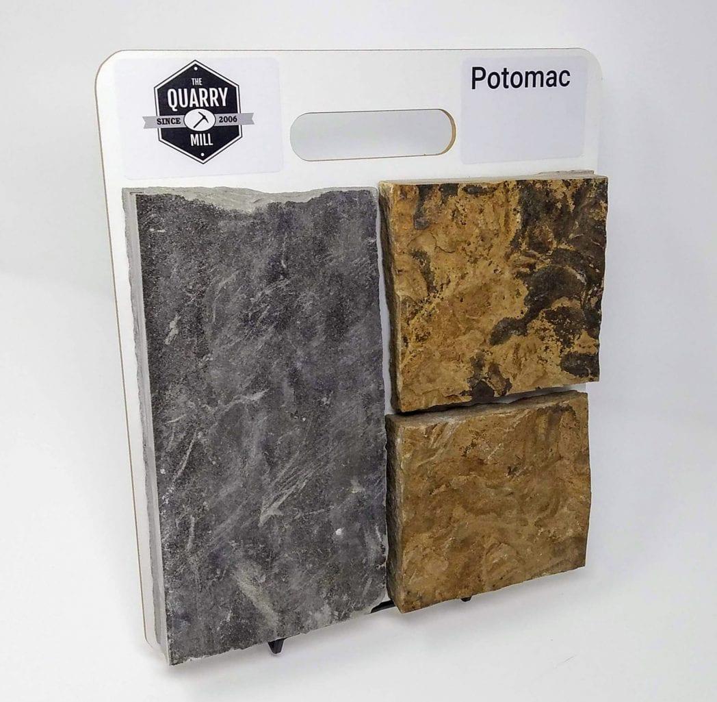 Potomac Natural Stone Veneer Sample Board