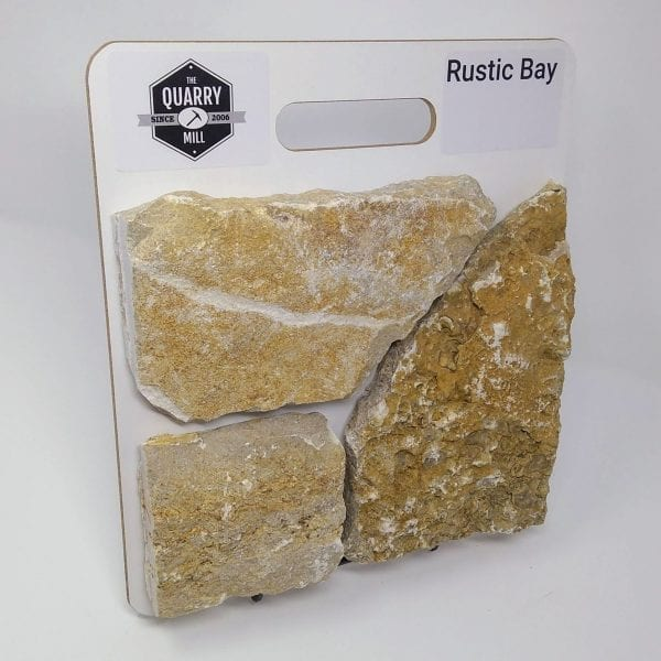 Rustic Bay Natural Stone Veneer Sample Board
