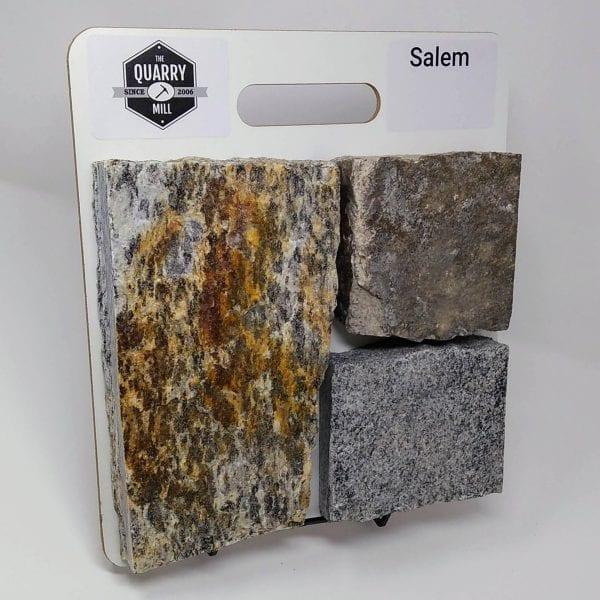 Salem Natural Stone Veneer Sample Board