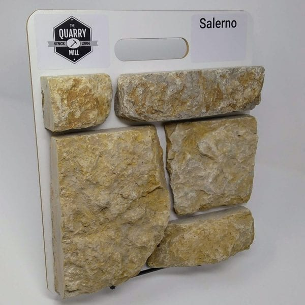 Salerno Natural Stone Veneer Sample Board