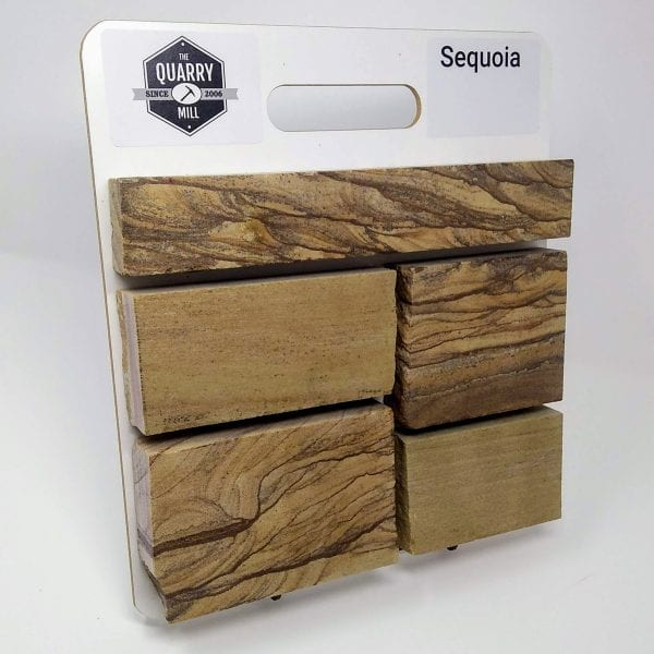 Sequoia Natural Stone Veneer Sample Board