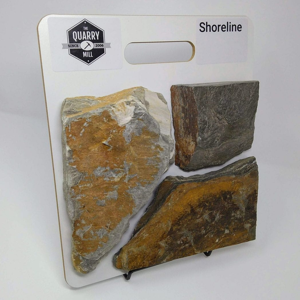 Shoreline Natural Stone Veneer Sample Board