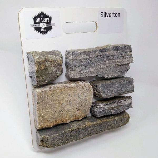 Silverton Natural Stone Veneer Sample Board