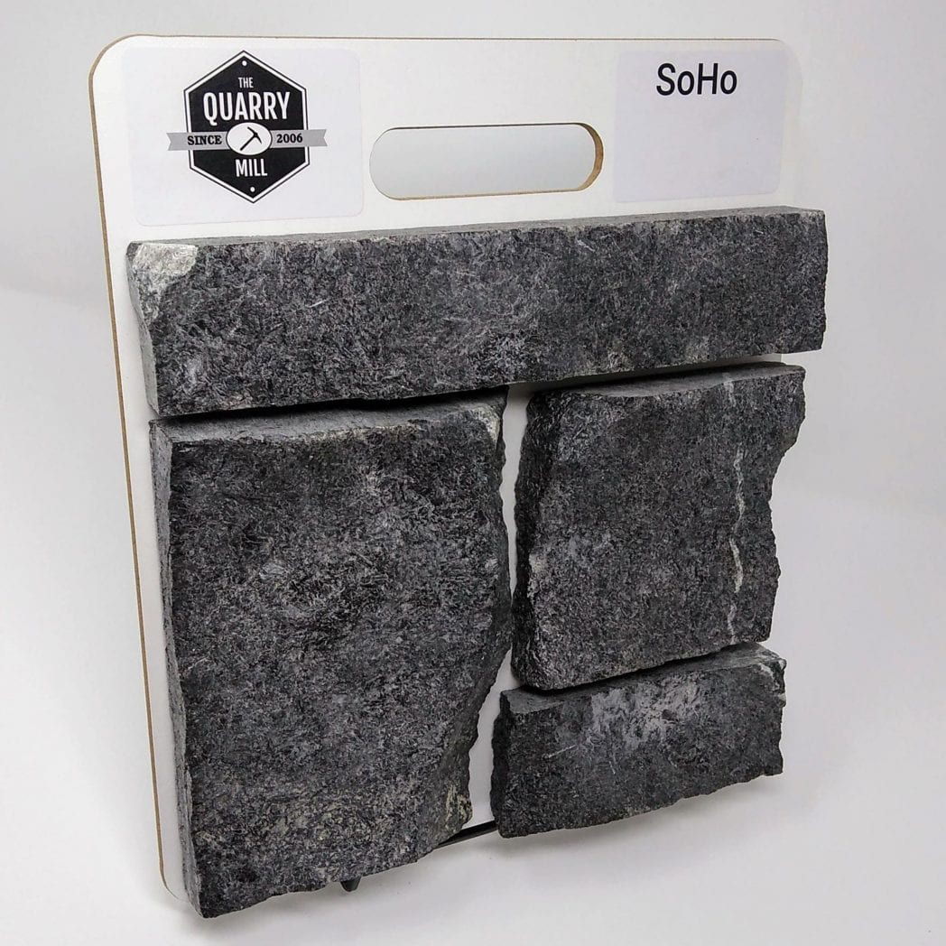 SoHo Natural Stone Veneer Sample Board