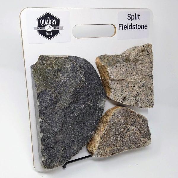 Split Fieldstone Natural Stone Veneer Sample Board