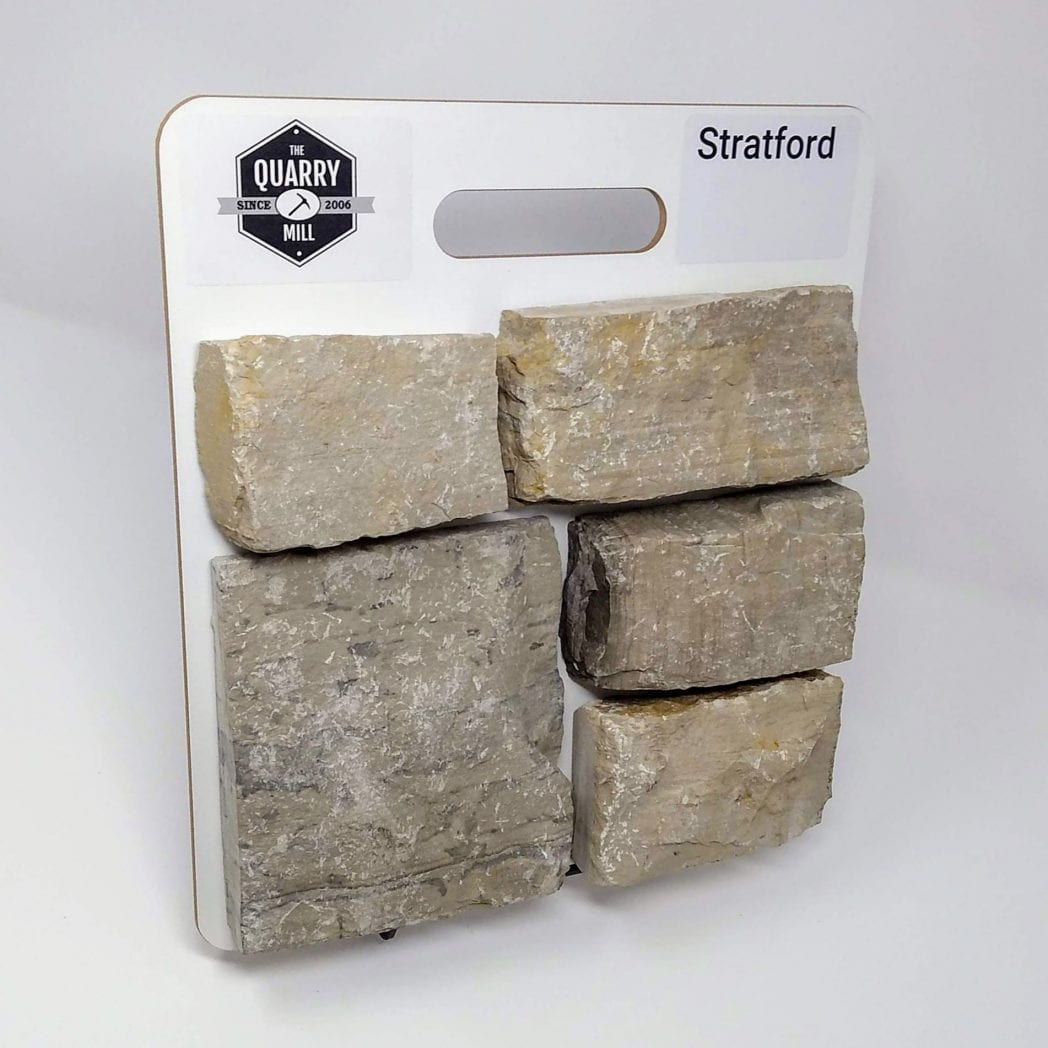 Stratford Natural Stone Veneer Sample Board