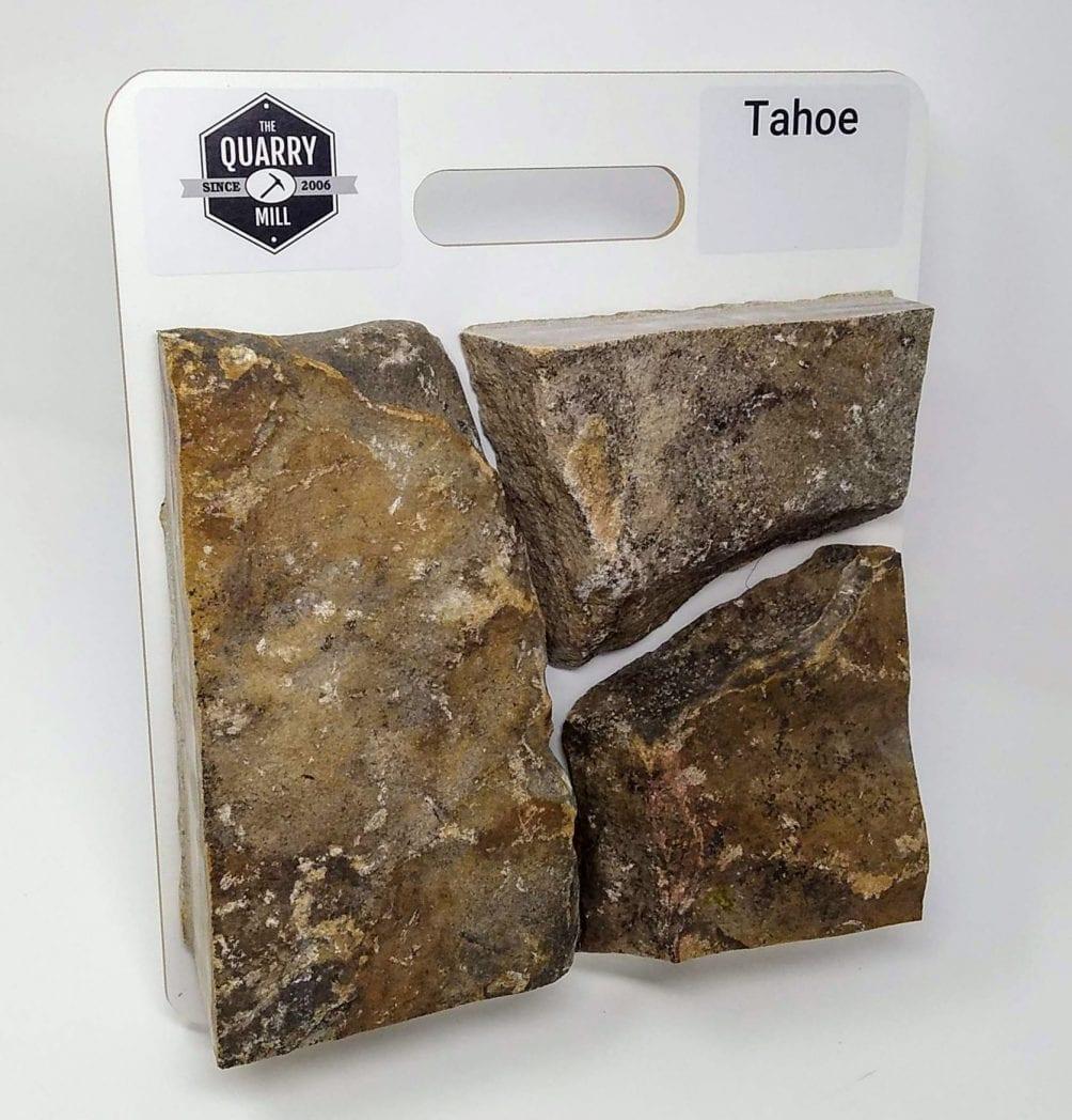 Tahoe Natural Stone Veneer Sample Board