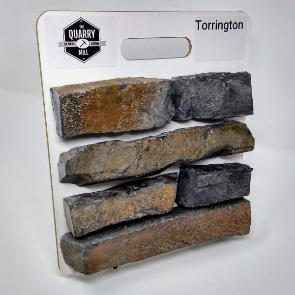 Torrington Natural Stone Veneer Sample Board