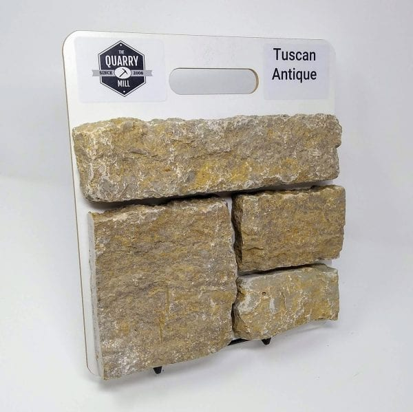 Tuscan Antique Natural Stone Veneer Sample Board