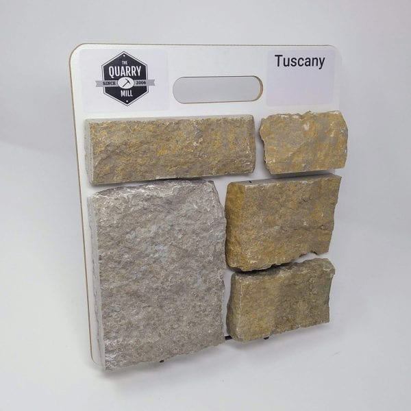Tuscany Natural Stone Veneer Sample Board