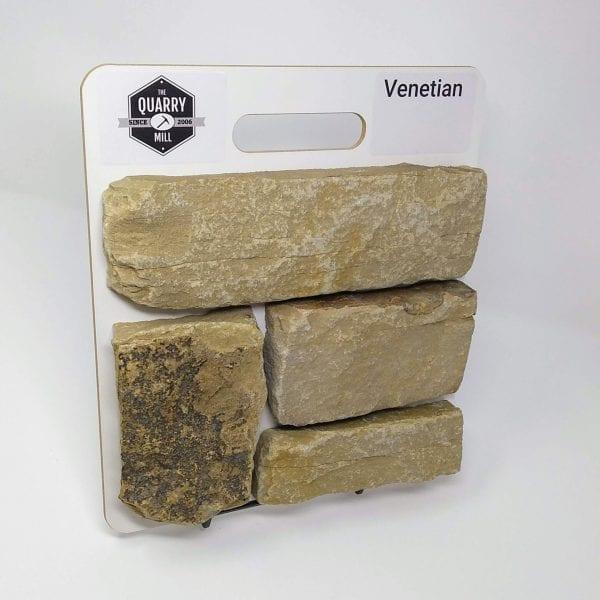 Venetian Natural Stone Veneer Sample Board