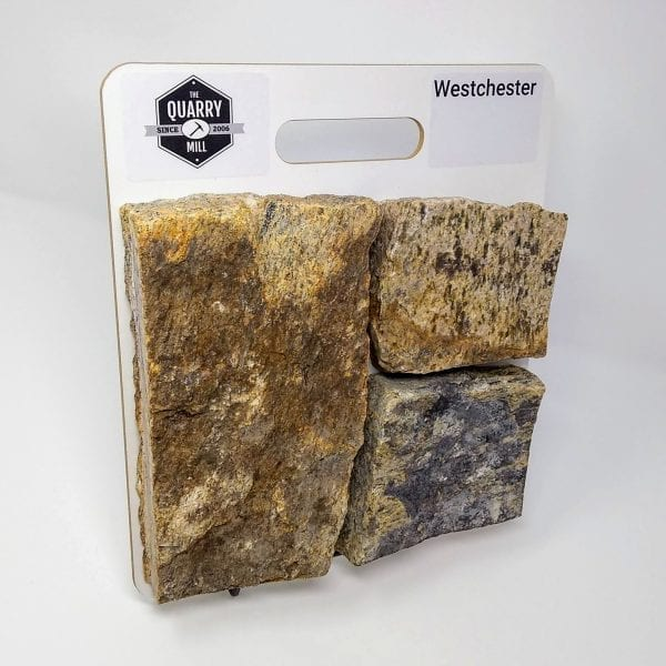 Westchester Natural Stone Veneer Sample Board