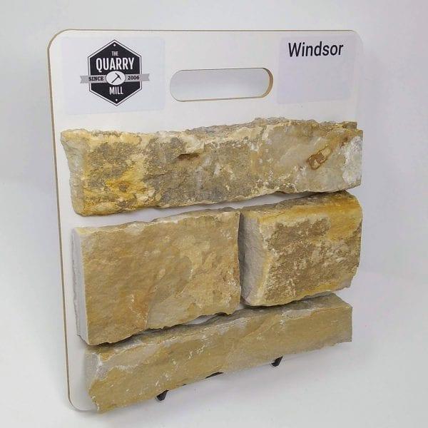 Windsor Natural Stone Veneer Sample Board