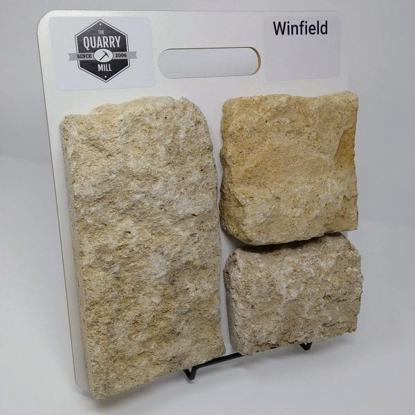 Winfield Natural Stone Veneer Sample Board