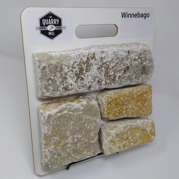 Winnebago Natural Stone Veneer Sample Board