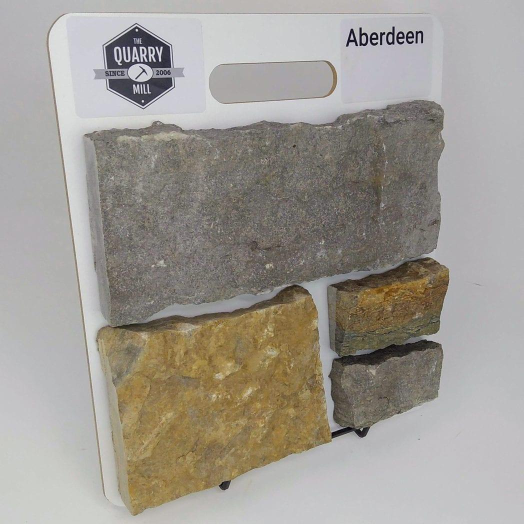 Aberdeen Natural Stone Veneer Sample Board
