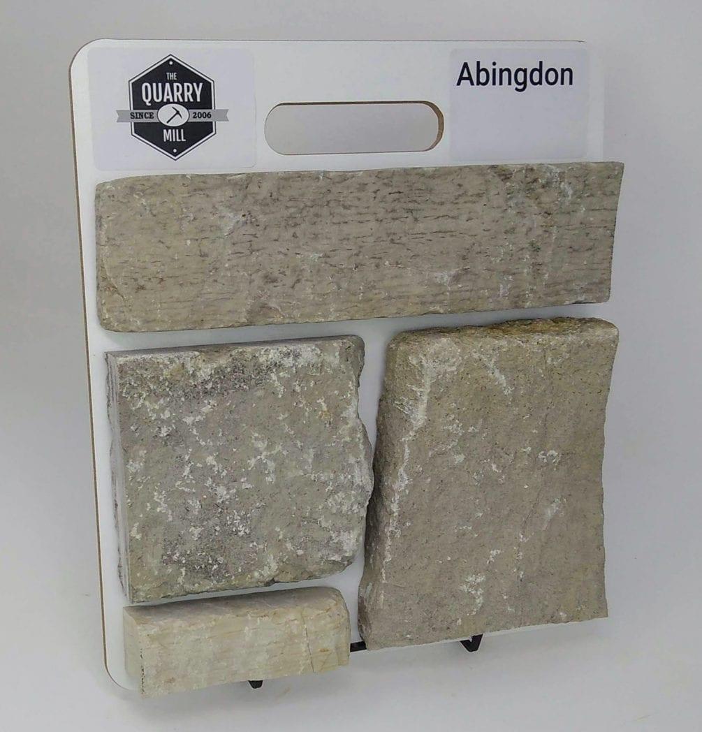 Abingdon Natural Stone Veneer Sample Board