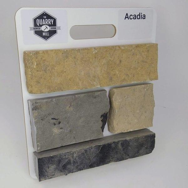 Acadia Natural Stone Veneer Sample Board