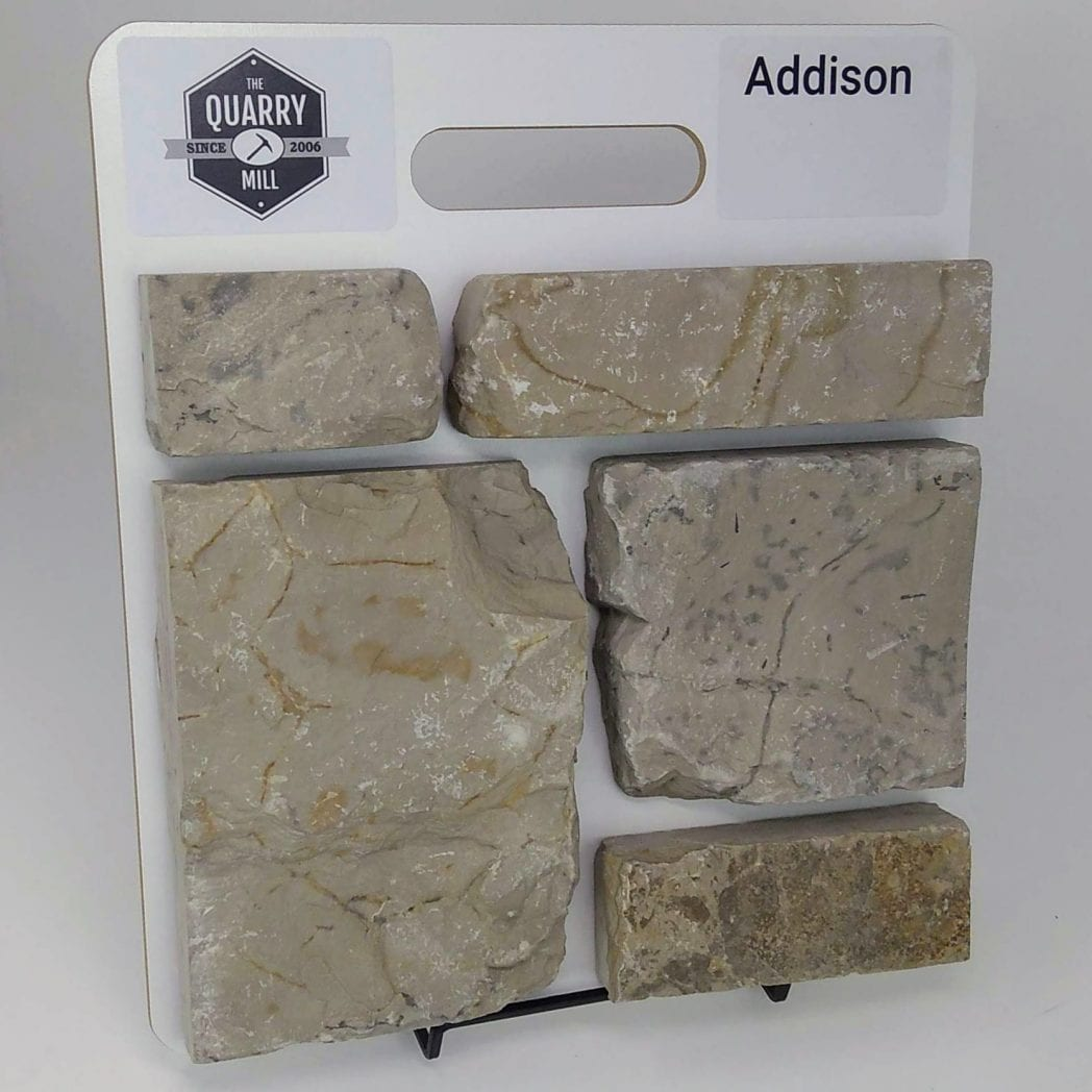 Addison Natural Stone Veneer Sample Board