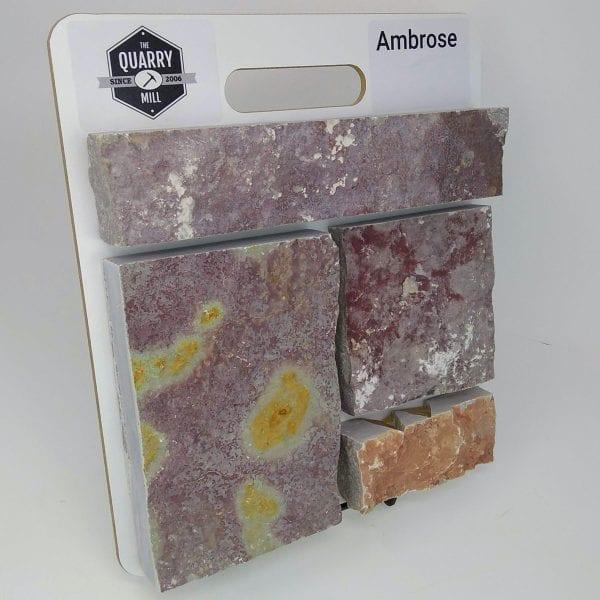 Ambrose Natural Stone Veneer Sample Board