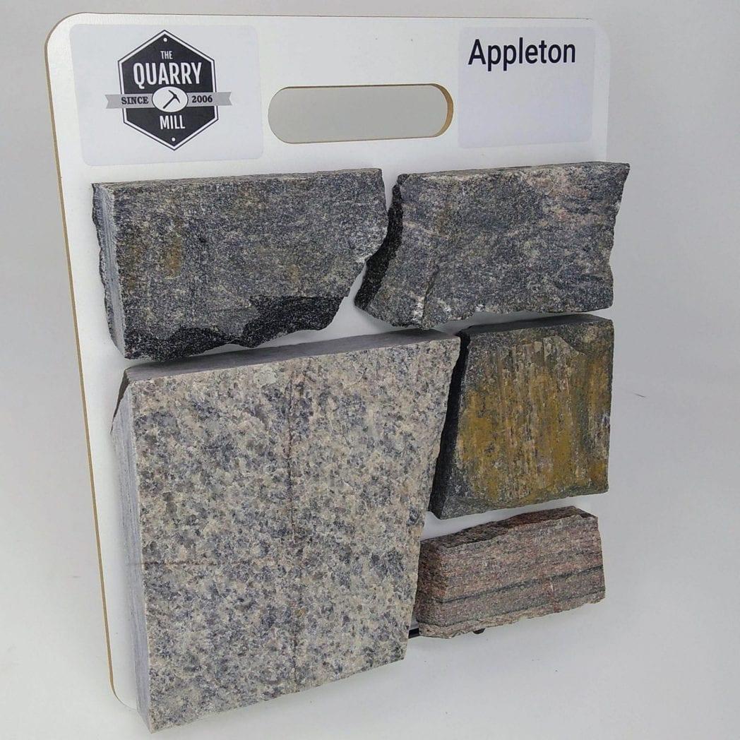 Appleton Natural Stone Veneer Sample Board